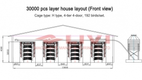 30,000 layers in one chicken house